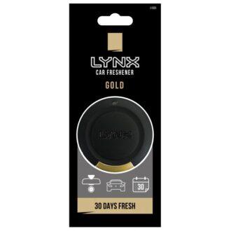 Lynx Black – 3D Hanging Air Freshener