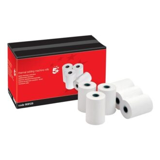 Thermal Till & PDQ Rolls – 57 x 55mm x 40m – Pack of 20
