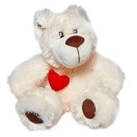 Soft Teddy Bear with Heart