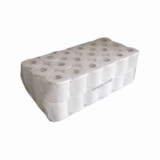 2 Ply White Toilet Rolls – Pack of 36 x 320 Sheets