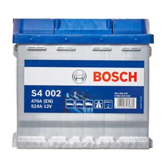 Bosch S4 S4 Battery 012 4 Year Guarantee