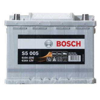 Bosch S5 S5 Battery 027 5 Year Guarantee