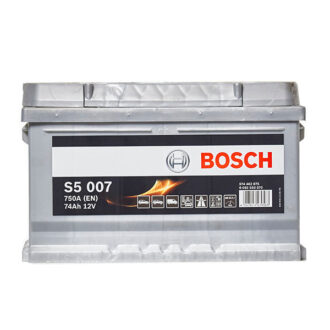 Bosch S5 S5 Battery 100 (74Ah) 5 Year Guarantee