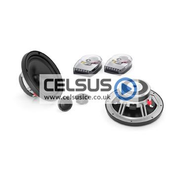 C5 6.5″ (165 mm) 2-Way Component Speaker System