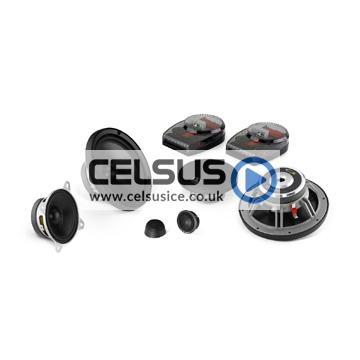 C5 6.5″ (165 mm) 3-Way Component Speaker System