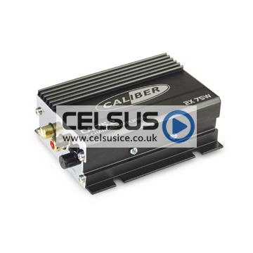 Caliber 2 Channel Amplifier with RCA Input