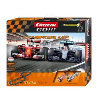Carrera Go!!! 1:43 F1 Slot Car Set