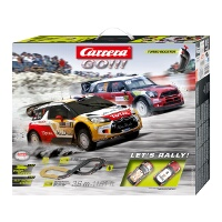 Carrera Go!!! 1:43 WRC Rally Slot Car Set