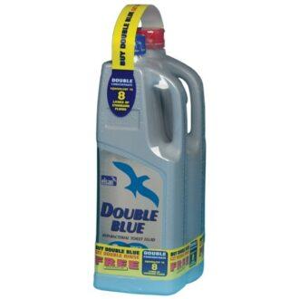 Toilet Fluid – Double Blue + Free Double Rinse – 2 Litre