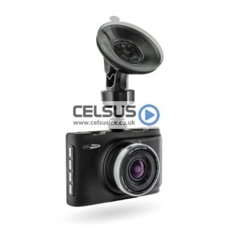 Caliber 2.0mp Front & Rear Dashboard Camera with G-Sensor