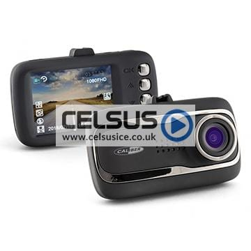 Caliber 3.0mp Front & Rear Dashboard Camera with G-Sensor & GPS