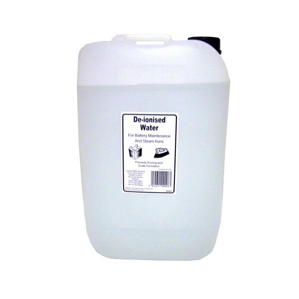 De-ionised Water – 25 Litre