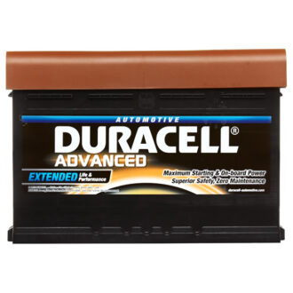 Duracell DE92AGM Extreme Car Battery Type 019 – 3 Year Guarantee