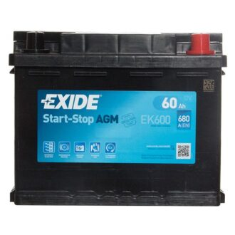 Exide AGM 027 EK600 3 Years Guarantee