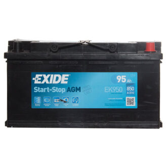 Exide AGM Battery 019 3 Year Guarantee
