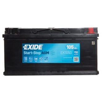 Exide AGM Battery 020 EK1050 3 Year Guarantee