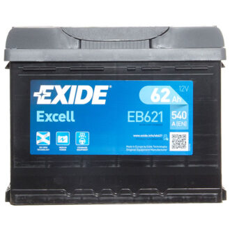 Exide Excell Battery 078 3 Year Guarantee