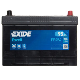 Exide Excell Battery 335 3 Year Guarantee