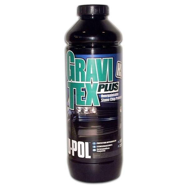 Gravitex Stonechip Protector Sprayable Paint – Black – 1 Litre