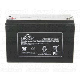 Leoch VRLA Sealed Battery – 12V 100Ah