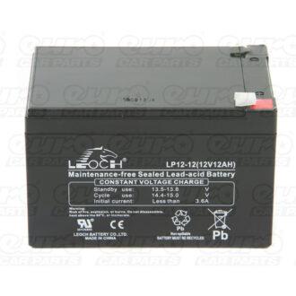 Leoch VRLA Sealed Battery – 12V 12Ah