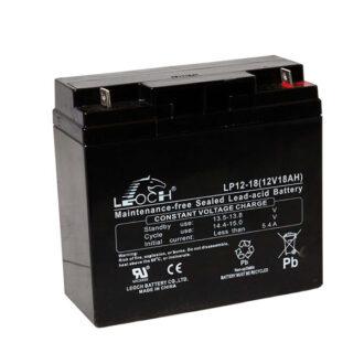Leoch VRLA Sealed Battery 12V 18AH (Spade)