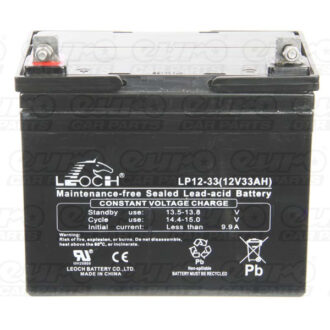 Leoch VRLA Sealed Battery – 12V 33Ah