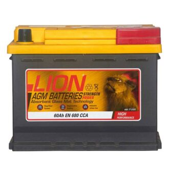 Lion 027 AGM Car Battery – 3 Year Guarantee