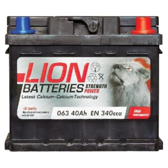 Lion 063 Battery – 3 Year Guarantee