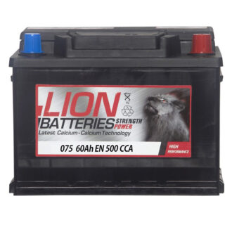 Lion 075 Battery – 3 Year Guarantee