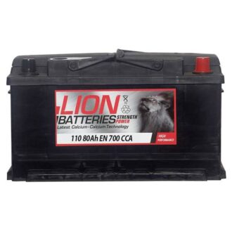 Lion 110 Battery – (80Ah) 3 Year Guarantee