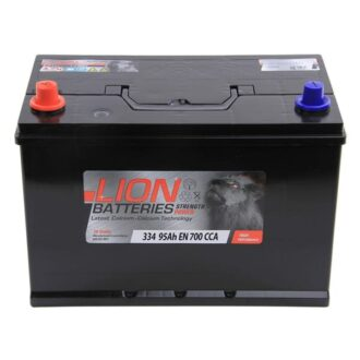 Lion 334 Battery – 3 Year Guarantee