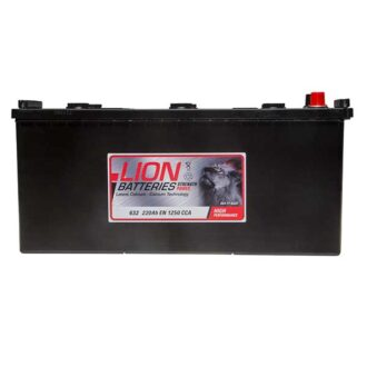 Lion 632 Battery – 3 Year Guarantee