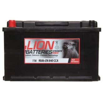 Lion Battery 116 3 Year Guarantee