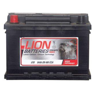 Lion Car Battery – 078 – 3 Year Guarantee