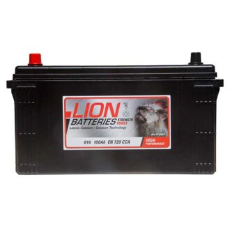 Lion Commercial Battery 616 – 2 Year Guarantee