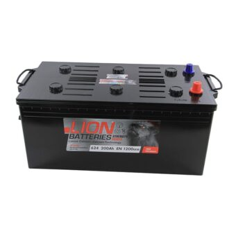 Lion Commercial Battery 624 – 2 Year Guarantee