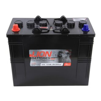 Lion Commercial Battery 656 – 2 Year Guarantee