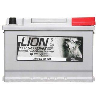 Lion EFB 096 Battery 3 Year Guarantee