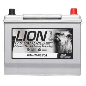 Lion EFB Battery 030 – 3 Year Guarantee