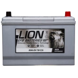 Lion EFB Battery – 335 – 3 Year Guarantee