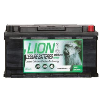 Lion Leisure Battery 100Ah Low Box