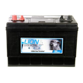 Lion Sealed Marine Battery – 100Ah