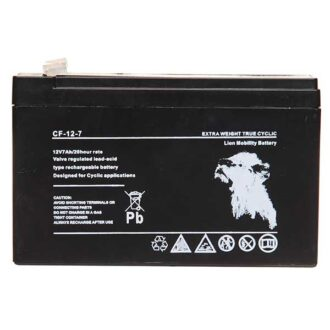 Lion VRLA 12V 7AH Sealed Battery (Spade)