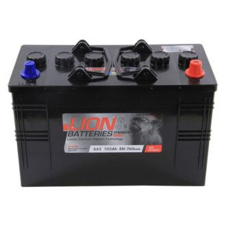 Lion commercial Battery 663 – 2 Year Guarantee