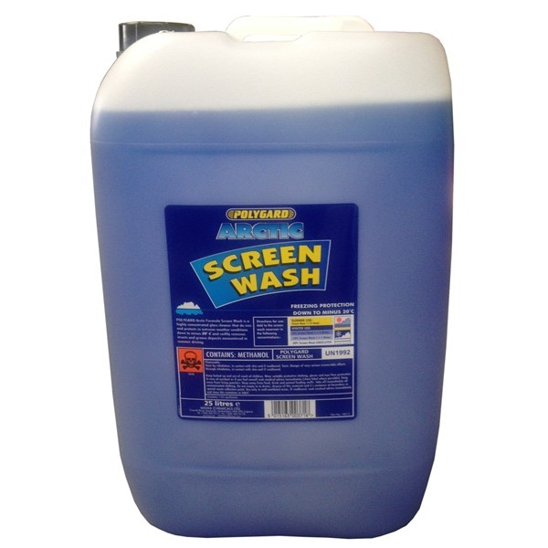 Arctic Screen Wash – Concentrated (-20C) – 25 Litre