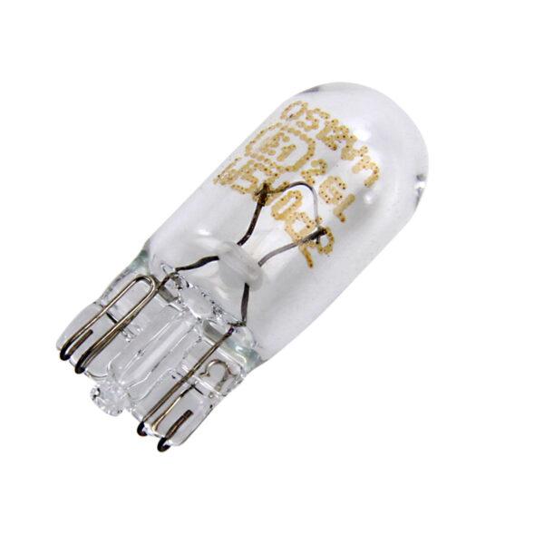 Neolux 501 Capless Wedge Bulb Clear – Side Light / Indicator