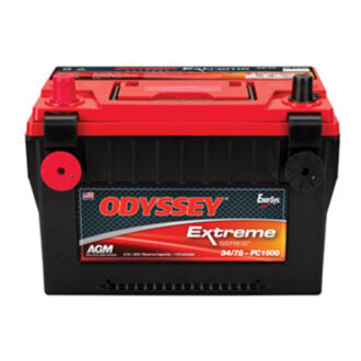 Odyssey AGM Extreme Battery PC1500DT (Post & Threaded Fitting)