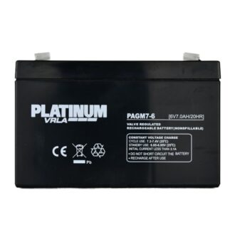 Golf & Mobility VRLA Battery – 7Ah