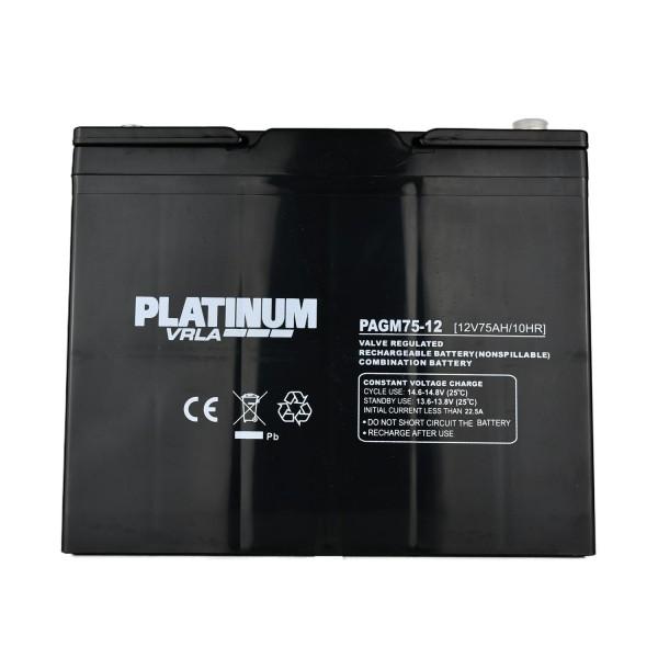 Golf & Mobility VRLA Battery – 75Ah